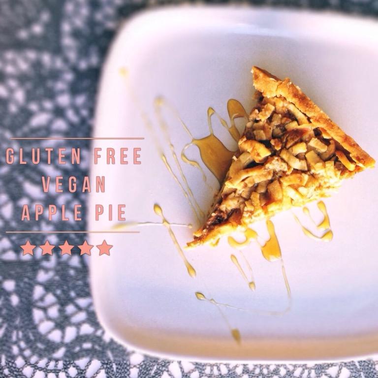 Gluten free vegan Applepie